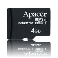 Apacer MicroSD 4 GB – Industrial