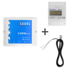 CEMM basic energieverbruiksmanager incl. Eastron SDM72D 3 fase kWh meter + S0 kabel